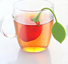 Tea Deffuser Infuser strainer Silicone loose Leaf Strawberry Filter color