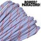Lithium - 550 Paracord Rope 7 Strand Parachute Cord - 10ft 25ft 50ft 100ft