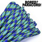 Under Water - 550 Paracord Rope 7 Strand Parachute Cord - 10ft 25ft 50ft 100ft