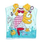 Children Kids Beach Swimming Towel Cartoon Hooded Boy Girl Baby Bath Pool Towel