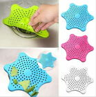 Silicone Kitchen Bath Sink Tub Hair Catcher Strainer Filter Drain Cover Stopper