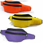 Fanny pack Waist Belt Bag .50 shipping after first item Discount Solid Color