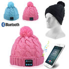 Bluetooth Music Soft Beanie Hat Wireless Smart Cap Headset Headphone Speaker Mic