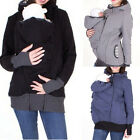 Baby Carrier Jacket Kangaroo Maternity Outerwear Coat Sorted Fashion Hooded