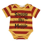Newborn Infant Baby Boy Girl Playsuit Clothes Bodysuit Outfit Romper Jumpsuit GL