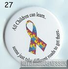 Teachers Button Badges, All children can learn, some just take different roads