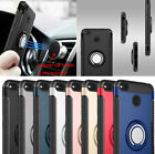 Shockproof Hybrid Stand Case Magnet Car Holder Cover For Xiaomi Redmi 4 Note 4X