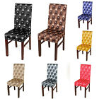 Removable Chair Covers Protector Stretch Slipcovers Short Dining Room Stool CA