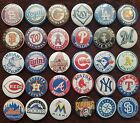 Major League Baseball MLB Button Badges.  Pins. Collector. Bargain.