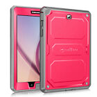 For Samsung Galaxy Tab A 8.0 Dual Layer Case Cover w/ Built-in Screen Protector