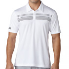 Adidas ClimaCool Chest Print Polo Shirt - White/Black