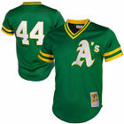 Reggie Jackson Oakland Athletics Mitchell & Ness 1987 Batting Practice Jersey on Ebay