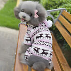 Pet Dog Cat Puppy Jacket Coat Winter Clothes Sweater Clothing Apparel Costume