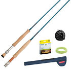 Redington Crosswater Fly Rod & Reel Combo Kit Outfit Complete Kit Great Value