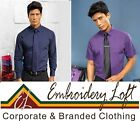 """Premier Corporate Shirts """"Poplin"""" Style Long or Short Sleeve Priced To Clear"""