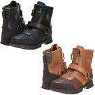 Polo Ralph Lauren Mens Conquest Hi III Strap Zip Up Fashion Winter Ankle Boots