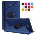 """360 Rotation Leather Stand Case Cover For Samsung Galaxy Tab A 7"""" 9.7"""" 10.1"""" E"""