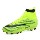 Hot Selling Young Men Cleats Outdoor Football Shoes (AG/TF) Anti-Slip