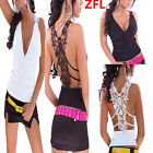 Womens Girls V Neck Sexy Hollow Lace Camisole Vest Ladies Sleeveless Tank Top