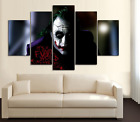 A WONDERFUL HOMAGE TO THE INCREDIBLE LATE HEATH LEDGER PRINT 5 PIECES CANVAS B