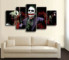 A WONDERFUL HOMAGE TO THE INCREDIBLE LATE HEATH LEDGER PRINT 5 PIECES CANVAS K
