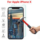Premium Real Screen Protector Tempered Glass Film For iPhone 10 X 6 6s 7 8 Plus