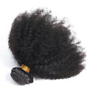Unprocessed Virgin Mongolian Afro Kinky Curly Human Hair Extensions 100g/Bundle