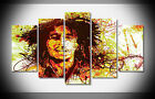 P1528 Bob Marley Poster print with framed canvas Home art gallery wrap decor NEW