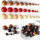 Lot Bulk Round Wood Spacer Beads Natural Unpainted Unfinished Wooden Beads Ball