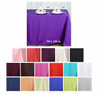 """90x156"""" Polyester Rectangle Tablecloths"""