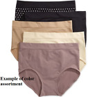 SALE 3-Pack Bali One Smooth U All-Over Smoothing Brief Panty 2361 Assorted Color