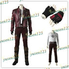 Guardians of the Galaxy 2 Peter Quill Star-Lord Halloween Cosplay Jacket Pants