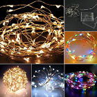 20/30/40 LED String Copper Wire Fairy Lights Battery Power Operated Waterproof