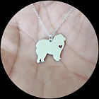 Chow Chow Necklace - Sterling Silver Jewelry - Gold - Rose Gold - Engrave