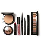6/8PCS PRO MAKEUP EYESHADOW LIPSTICK BROW PEN FACE POWDER COSMETICS KIT GLARING