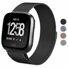 Внешний вид - For Fitbit Blaze Smart Watch Replacement Milanese Loop Strap Wrist Band & Frame