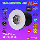 6X 10W LED Fire Rated Downlight Kits Dimmable IP65 CREE COB Complete Set