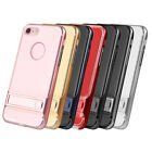 Fashion kickstand slim protector TPU Hard Cover Case for iphone 7 7 plus