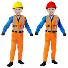 Construction Worker Costume Kids Emmet Halloween Fancy Dress