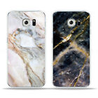Pattern Painted Marble Stone Back Cover Case For Samsung Galaxy S7 S6 Edge A9
