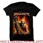 MEGADETH ARSENAL PUNK ROCK ALTERNATIVE  MEN'S SIZES T SHIRT  image