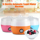 220V 1L 15W Mini Electronic Automatic Yogurt Maker Container Machine 2~3 People