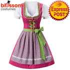 K391 Ladies Oktoberfest Beer Maid Costume Bavarian German Dirdnl Lederhosen