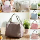 Thermal Picnic Cooler Insulated Portable Lunch Box Bag Travel Carry Storage W