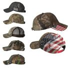 Realtree Xtra Camo, USA American Flag, Baseball Hats, bandana, Hunting Ball Caps, used for sale  Shipping to South Africa