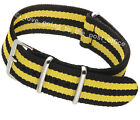 Nylon NATO Watch Strap Quality Band Army Military Divers G10 18, 20, 22mm Fabric