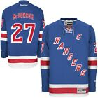 New Mens REEBOK NHL PREMIER JERSEY Ryan McDonagh Blue Home New York Rangers