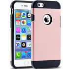 For iPhone 6s Plus 5S SE Shockproof Soft Rugged Rubber Armor Cover Case Skin