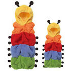 Baby child infant kids kick blankets sleeping bag caterpillars Double