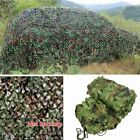 New Woodland leaves Camouflage Camo Army Net Netting Camping Military Hunting HM